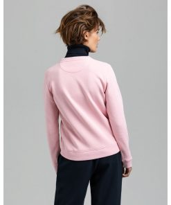 Gant Woman Archive Shield C-Neck Preppy Pink