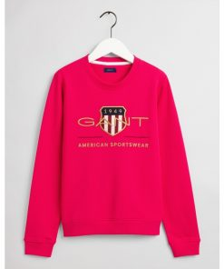 Gant Woman Archive Shield C-Neck Love Potion