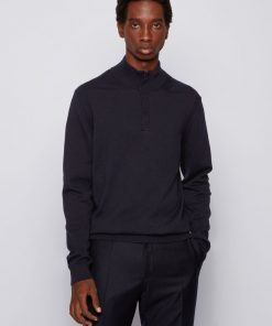 Hugo Boss Maneo Sweater Dark Blue