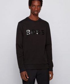 Hugo Boss Stadler Sweatshirt Black
