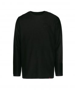Billebeino Slit Twill Sweater Black