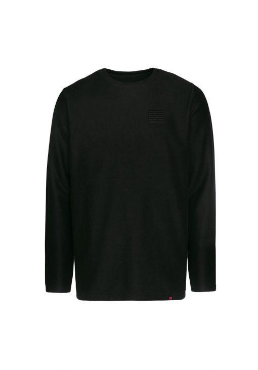 Billebeino Slit Twill Sweater Black