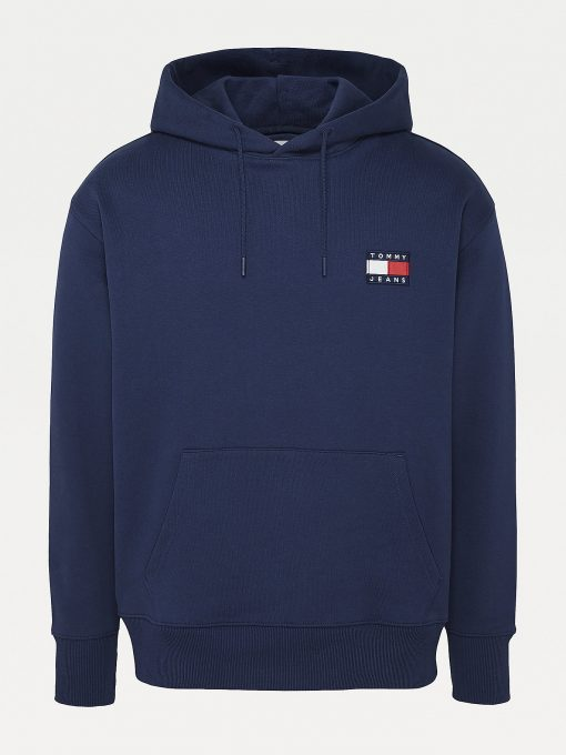 Tommy Jeans Tommy Badge Hoodie Twilight Navy
