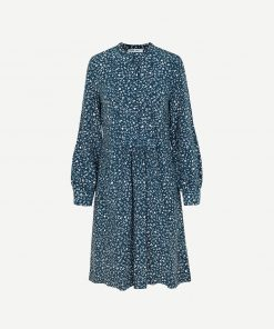 Samsoe & Samsoe Nusa Shirt Dress Aop Snowflake