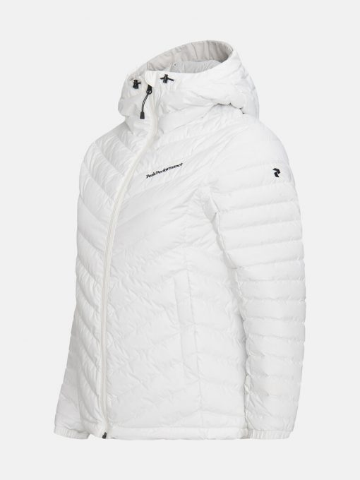 Peak Performance Frost Down Hood Jacket Women Offwhite