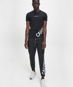 Calvin Klein Stretch Logo T-shirt Black