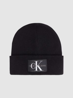 Calvin Klein Logo Beanie Black