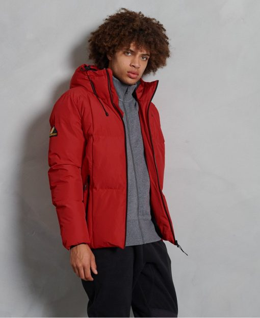 Superdry Evolution Puffer Rouge Red