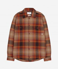 Makia Country Overshirt Copper