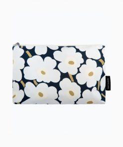 Marimekko Relle Mini Unikko Cosmetic Bag Blue