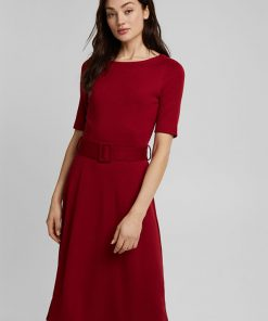 Esprit Dress Dark Red
