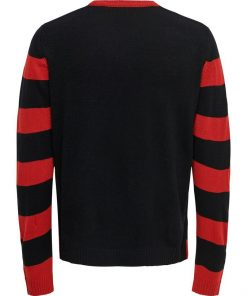 Only & Sons Christmas Pullover Black