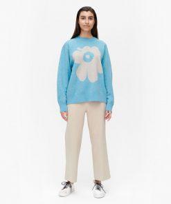 Marimekko Aksiooma Unikko Pullover Blue