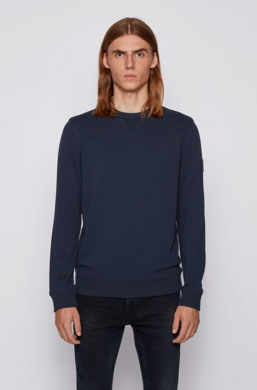 Hugo Boss Walk Up Jersey 1 Dark Blue