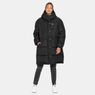 Fila Tender Long Puffer Jacket Black