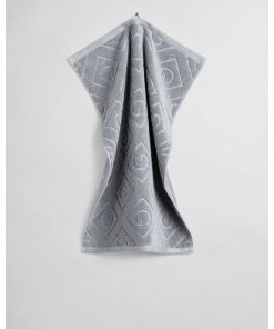 Gant Organic Cotton G-Towel Elephant Grey 50 x 70 cm
