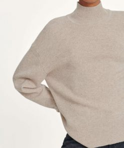 Samsoe & Samsoe Amaris Turtle Neck Warm Grey Melange