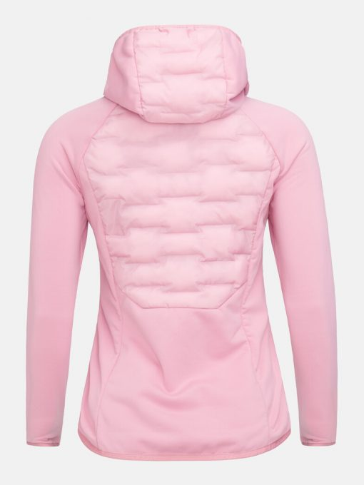 Peak Performance Argon Hybrid Hood Jacket Women Frosty Rose