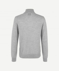 Samsoe & Samsoe Flemming Turtle Neck Grey Melange