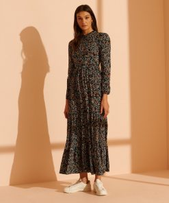 Superdry Skylar Maxi Dress Autumn Daisy