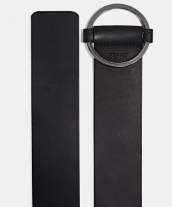 Esprit Leather Belt Black