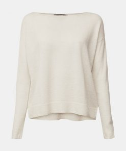 Esprit Wool-Mix Sweater Off White