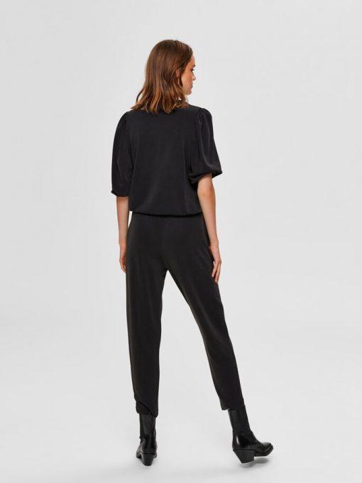Selected Femme Tenny 3/4 Sweatshirt Black