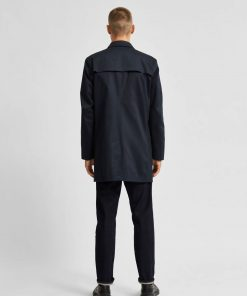 Selected Homme New Timeless Coat Sky Captain