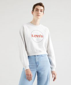 Levi´s Vintage Raglan Crew Heather Grey