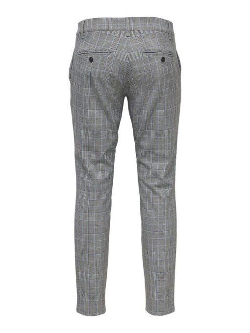 Only & Sons Mark Check Pants Marina