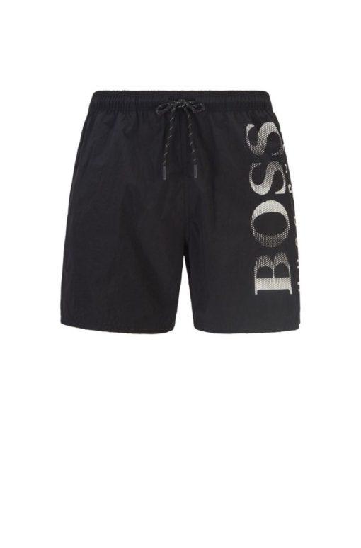 Hugo Boss Octopus Swim Shorts Black