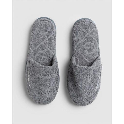 Gant Home Organic G Slippers Elephant Grey
