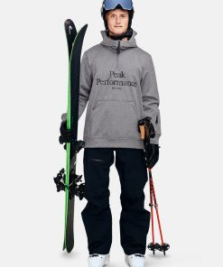 Peak Performance Original Ski Hood Men Grey Melange