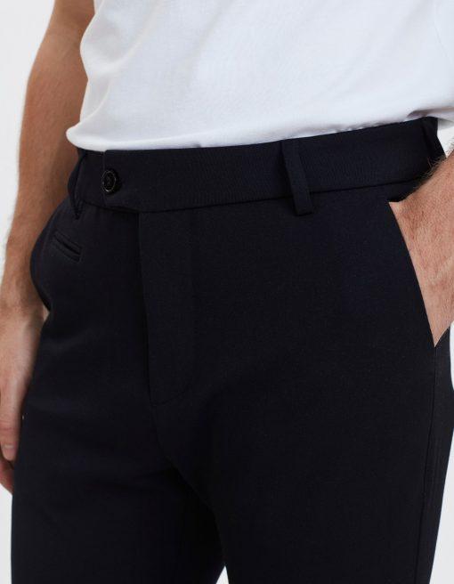 Les Deux Como Suit Pants Navy