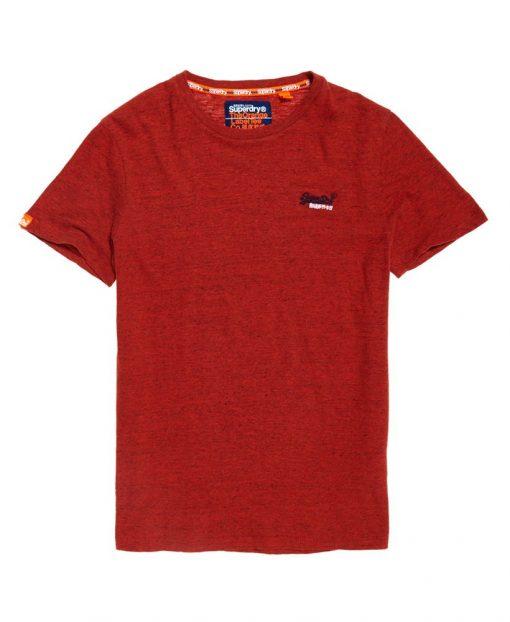 Superdry Orange Label Vintage T-shirt Arizona Orange Grit