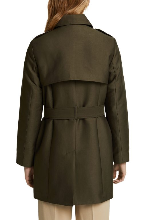 Esprit Trench Jacket Olive Green