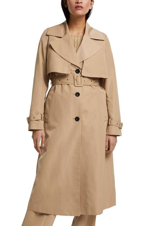 Esprit Trench Coat Sand