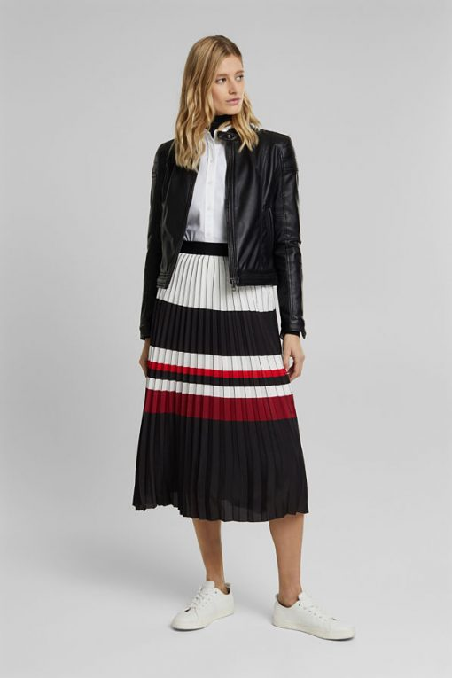Esprit Plisee Skirt Black