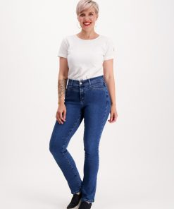 Very Nice Pirre Straight Jeans Denim Blue