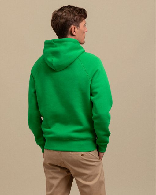 Gant Lock Up Hoodie Fern Green