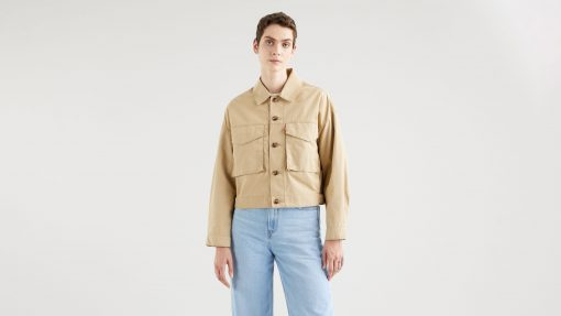 Levi´s Loose Fit Cargo Jacket Soft Structure Incense