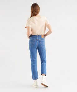 Levi´s 501 Cropped Jeans Breeze Stone