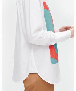 Marimekko Veytys Taifuuni Shirt White