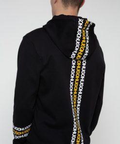 Hugo Boss Dozzi Hooded Sweatshirt Black