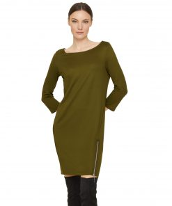 Comma Sweatshirt Tunic Deep Green