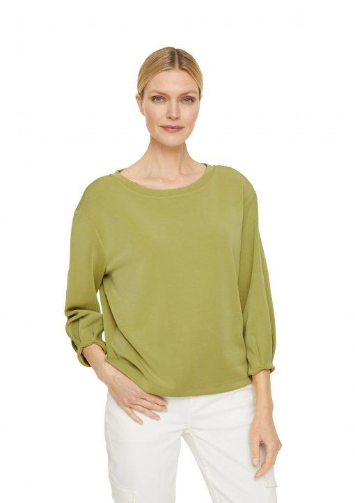 Comma, Sweatshirt Spring Green