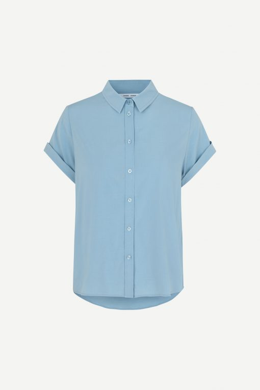 Samsoe&Samsoe Majan Shirt Dusty Blue