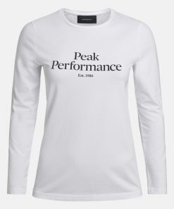 Peak Performance Original Long Sleeve Women White