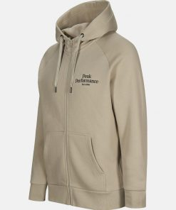 Peak Performance Original Zip Hood Men Celsian Beige