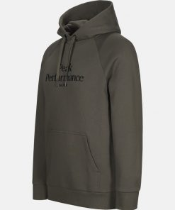 Peak Performance Original Hood Men Black Olive